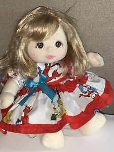 Beautiful Blonde My Child Doll with Custom Clothes