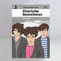 The Cure Ltd Edition A5 Charlotte Sometimes Birthday Card Robert Smith Goth