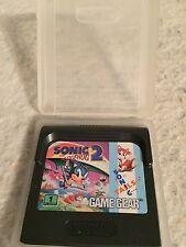 Sonic the Hedgehog 2 + FREE & Fast Ship (Sega Game Gear Gamegear).