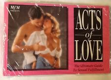Adult Book Sexual Aid Paperback Acts of Love Sex Manual
