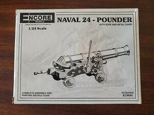 Encore Models 1/24 Naval 24-Pounder EC9690 Plastic Model Kit    RARE