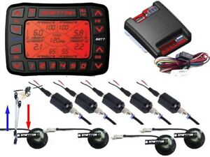 V AccuAir VS SMART RIDE AB9000 Electronic level System 5 Preset Height & Pressur
