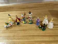 Lot Of 12 Disney Plastic Figurines