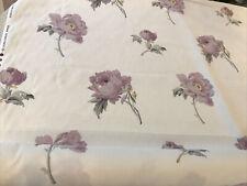 Laura Ashley Peony Blossom Amethyst Fabric / Material x 10 Metres - RARE