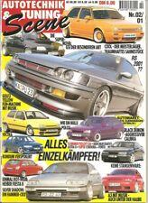 Tuning Scene 02/01 * Opel Kadett GSI * Honda CRX * BMW Compact * VW Golf II *