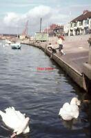PHOTO  1965 LITTLEHAMPTON SUSSEX HOPEFUL FISHERS ON THE RIVER ARUN AT LITTLEHAMP