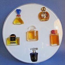 Mini Perfume Set of 6 Fendi Lalique Bal a Versailles Dolce & Gabbana Red Vintage