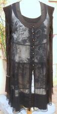 robe + voile* la mode est à vous * LMV taille 40 neuf s/ etiquet mod. ESQUISE