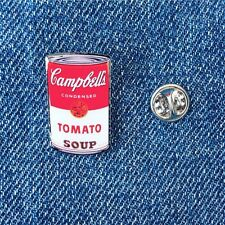 Andy Warhol Campbell's Soup Can Pin Badge Pop Art New York City