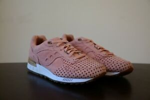 New DS 2013 Play Cloths x Saucony Shadow 5000 Cotton Candy Coral Almond sz 9 US