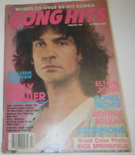 Song Hits Magazine Elton John & Lionel Richie February 1985 071614R