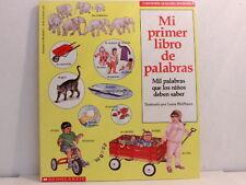 NEW! Mi primer libro de palabras, mil palabras que los niños deben saber