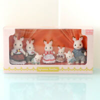 Sylvanian Families EXHIBITION EXCLUSIVE CHOCOLATE RABBIT FAMILY Calico Critters
