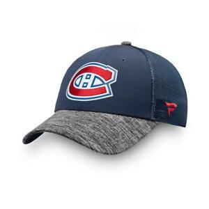 NEW Authentic Fanatics Montreal Canadiens Mesh Hat Cap Adjustable Snapback