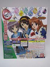 Melancholy of Haruhi Suzumiya Sound & Drop Gashapon Toy Machine Paper Card
