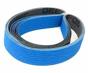 """1x30 Sharpening Sanding Belts Ceramic Abrasive Flex Gel fits 1""""X30"""" Belt Sanders"""