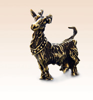 Miniature Bronze Figurine Goat №2 sculpture art manual processing rare