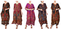 Miss Lavish Kaftan Tunic Kimono Dress Ladies Women Evening Plus Size Maxi Caftan