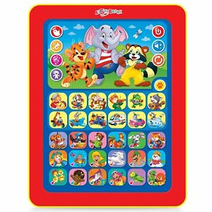 Educational Toy Tablet For Kids Russian Fairy Tales & Songs Guessing Games