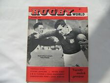 Rugby World Magazine (Rugby Union) December 1960. 3rd Edition.