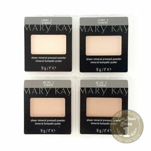 MARY KAY SHEER MINERAL PRESSED POWDER choose from Ivory Beige Bronze free ship