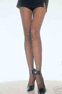 NEON PURPLE FISHNET TIGHTS EXCELLENT QUALITY O/S