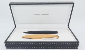 JORG HYSEK Black Ballpoint Pen Brand New w/ Box $750 Retail
