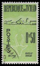 CHAD 70 (Mi69)  - Dorcas Gazelle and Biltine Village (pf81507)