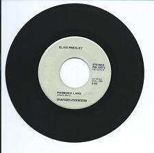 "1974 ELVIS PRESLEY ""PROMISED LAND"" 45rpm 7"""