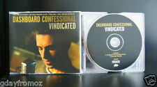 Dashboard Confessional - Vindicated 3 Track CD Single