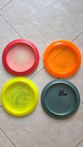 SUPER PACK!!! Pre-owned disc golf set (4 discs)