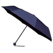 Señoras Minimax Supermini Paraguas Plegable Manual Resistente al viento-Azul Marino