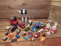 Vintage Original Transformers G1 1980's Parts Lot Hasbro 80's & Others!