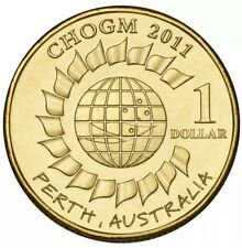 Australian Government CHOGM 2011  $1 Coin Uncirculated In Holder Ex Roll