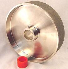 "BUTW 8""x 1 1/2"" x 360 grit diamond lapidary grinding polishing cabochon wheel"