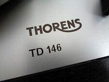 - Thorens TD-146 Plattenspieler mit SME 3009 Tonarm - turntable - record player