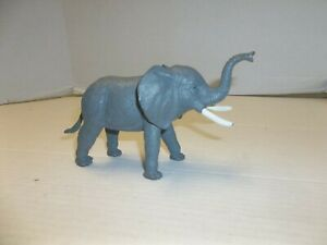 "Boley Nature World Elephant Figure 7"" Trunk to Tail"