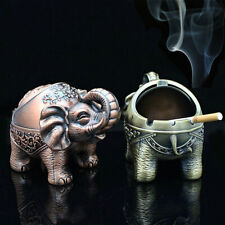 Desktop Ornaments Elephant Shape Novelty Cigarette Cigar Metal Ash Aschenbecher