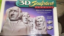 3D Sculpture Puzzles Mount Rushmore Challenging Layer Puzzle