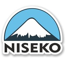 2 x Niseko Ski Snowboard Vinyl Sticker Laptop Travel Luggage Car #5155