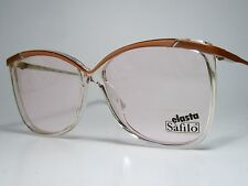 Nos Safilo Portfolio 309 Ladies Plastic Sun/ Eyeglasses Frame Terr-Cott 60-15 Lg