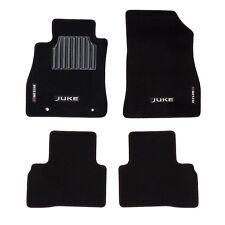 2011-2017 Nissan Juke NISMO Black Carpeted Floor Mats Front & Rear Set OEM NEW