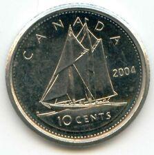 Canada 2004 Canadian Dime Ten Cent Piece 10c (coin lot D)