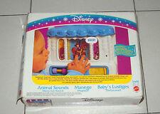 Walt Disney IL CAROSELLO DEGLI ANIMALI Animal Sounds Merry Go Round MATTEL 1993