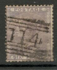Queen Victoria - SG 70 - 6d Lilac -  Used (£100.00) SCOTS DUNDEE