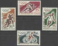 Timbres Sports JO Togo 303/6 ** lot 22248