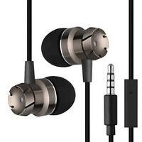 3.5 mm avec MIC Super Bass musique dans l'oreille casque stéréo écouteurs w