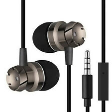 3.5 mm avec MIC Super Bass musique dans l'oreille casque stéréo écouteurs