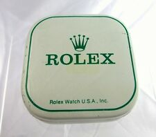 1970 Vintage Rolex Watch Part Tin Box Display Container Dial or Bezel Holder