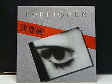 FOREIGNER Say you will 789169-7